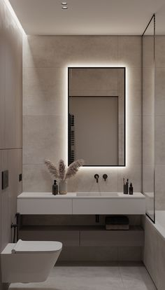WHITE ELEPHANT on Behance Washroom Design, Bathroom Design Luxury, Modern Bathroom Design, Luxury Bathrooms, Toilet And Bathroom Design, Small Toilet Design, Small Full Bathroom, Small Shower Room, Small Bathroom Interior
