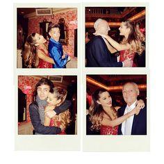<3 Ariana Grande's grandpa's 90th birthday <3