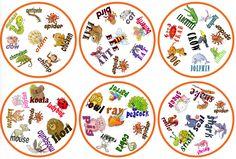 Vous connaissez le jeu Dobble ? Voici 7 versions différentes de ce jeu adoré des enfants et à imprimer gratuitement ! À vous de faire votre choix. - Page 11