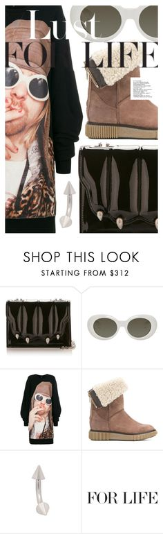 """Lust for Life"" by cultofsharon ❤ liked on Polyvore featuring Acne Studios, R13 and Moncler"