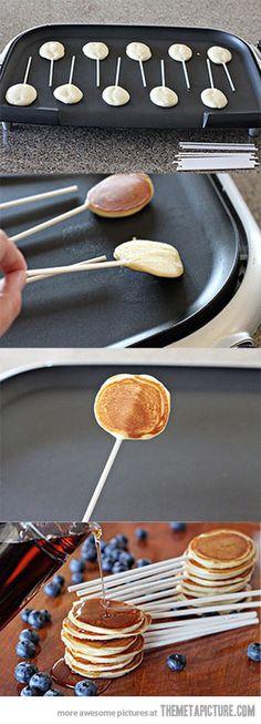 Pancake Pops…whaat!
