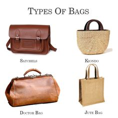 Since bags have always been based more on their use than their look, every corner of the world has contributed something in shaping today's industry of #leather bags for #women. It's truly a world invention.