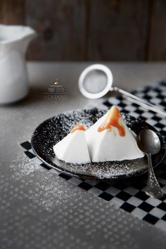 ♥ Beyond the mountains ♥ Panna cotta caramel