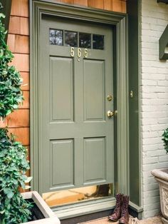 front door colors for tan house front door drama elements of style blog front door colors for tan house with green shutters
