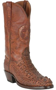 Black Jack® Mens Brown Horned Gator Exotic Western Boots | Cavenders Boot City