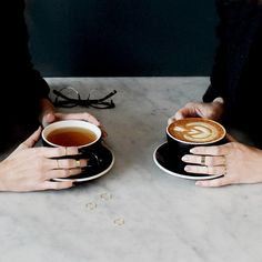 @brittelise you can have tea, I'll have coffee, and we'll both have really cool rings. I miss you! <3