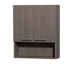 You Will Never Believe These Bizarre Truth Of Modern Bathroom Wall Cabinet - Amare Over-Toilet Wall Cabinet by Wyndham Collection - Gray Oak Wall Cabinet, Grey Oak, Oak Bathroom, Wall Mounted Cabinet, Wyndham Collection, Bathroom Wall Cabinets, Cabinet Shelving, Toilet Wall, Bathroom Wall