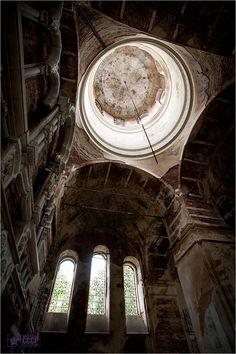rdeysky, an abandoned monastery in russia