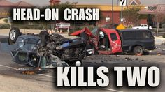CRASH KILLS TWO in Apple Valley, CA