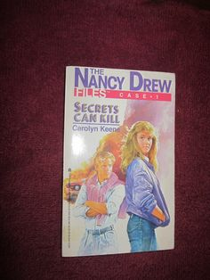 Nancy Drew Files Case 1 Secrets Can Kill by Carolyn Keene - 1986 ~~ For Sale At Wenzel Thrifty Nickel eCRATER store