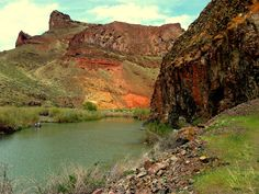 Owyhee River in the spring.