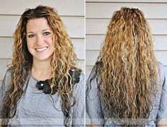 Curly Hair Problems: How to style curly hair for volume