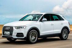 Audi passa a ser nacional. Motor é turbo Flex de 150 cv Audi Q3 2016, Suv Audi, Girly Car, Small Cars, Big Trucks, Range Rover, Sport Cars, Motorhome, Cars And Motorcycles