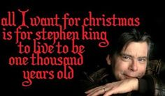 Stephen King - Just think how many stories he could write in that time! Stephen King O, Steven King Quotes, King Book, Best Authors, Interesting Reads, I Love Reading, King Of Kings, Book Worms, Books To Read