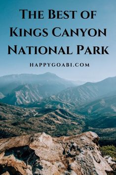 Going to Kings Canyon National Park? Here are some sights you will not want to miss - from hikes, to waterfalls, to scenic viewpoints, to super cool trees! There is so much to explore at this beautiful national park. California National Parks, Us National Parks, California Travel, Sequoia National Park, Travel Usa, Travel Tips, Travel Guides, Adventure Travel, Adventure Time