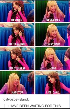 Yes. Team Hannah Montana all day !!<< I'm team Alex