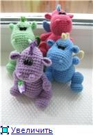 Cute Dragons  Free Crochet Pattern