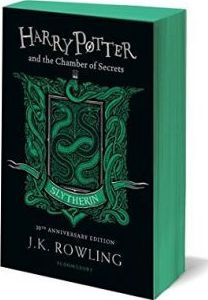 Harry Potter and the Chamber of Secrets - Slytherin Edition by J. Rowling, available at Book Depository with free delivery worldwide. Harry Potter Colors, Harry Potter Movies, Harry Potter World, Slytherin, Hogwarts, Rowling Harry Potter, Harry Potter Jewelry, Chamber Of Secrets, Jewelry Sites