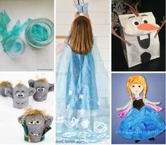 Frozen Inspired SLP and OT activities by PediaStaff