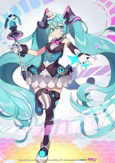 Manga Anime, Anime Art, Manga Girl, Anime Girls, Hatsune Miku Project Diva, Vocaloid Characters, Anime Figures, Cute Drawings, Aesthetic Anime