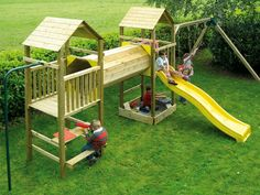 Backyard Fort, Kids Backyard Playground, Playground Design, Backyard For Kids, Backyard Projects, Outdoor Projects, Kids Outdoor Play, Outdoor Play Areas, Kids Play Area