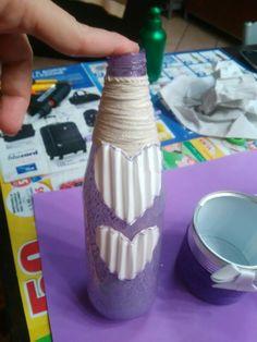 Bottiglie in vetro..riciclate..
