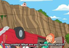 Seriously one of my favorite Family guy moments. Heyyyy crashy! lolololol