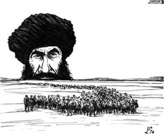 Refugee numbers in Iraq rose by 300,000 last week, amid escalating violence. Today's cartoon by Paolo Lombardi.