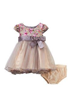Lace Empire Dress Set (Baby Girls 12-24M)