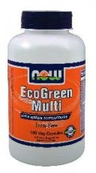NOW Foods Eco-green Multi, 180 Capsules Eco Green, Diet Supplements, Vitamins And Minerals, Health Care, Health Fitness, Foods, Food Food, Food Items, Nutritional Supplements