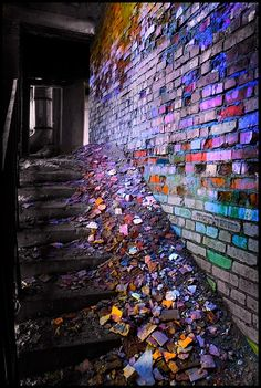 stairs of urban decay