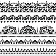 free henna tattoo soft design - Google 検索