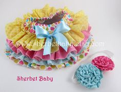 Design Your Own All Around 4 Ruffle Cupcake Style por SherbetBaby