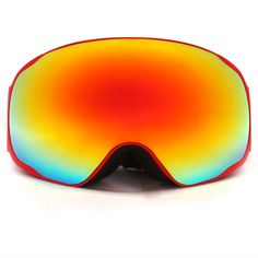 0a758b3fd647 Professional snow UV- Protection Multi-Color double anti-fog skiing  Snowboarding goggles