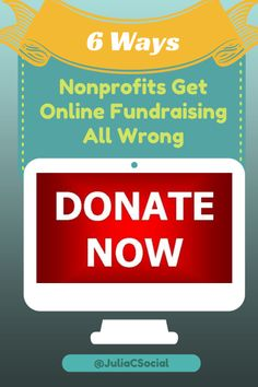 Online fundraising can be a big donation source for non-profits if done correctly!