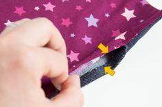Coudre une petite pochette facile (niveau débutant) | Les tutos couture de Dodynette