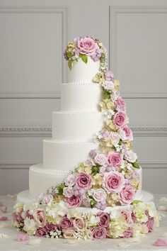 Peggy Porschen Iced Wedding Cake Collection - Floral Acalanche