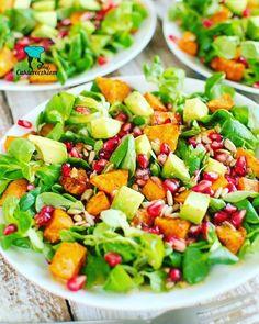 Rogaliki trzyskładnikowe Pasta Salad, Cobb Salad, Tortellini, Food And Drink, Breakfast, Ethnic Recipes, Food Ideas, Image, Diet