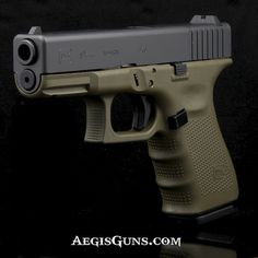 Glock 19 Gen4 in OD Green. We have them. Check it out at aegisguns.com.