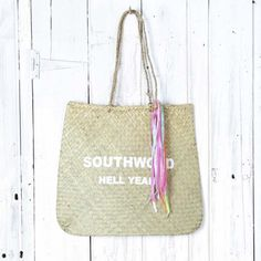 Beach Bound Southwold Hell Yeah Bag | Collen & Clare