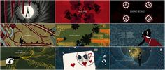 """""""Casino Royale"""" Motion Graphics Title Sequence"""