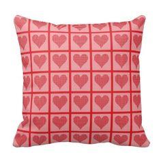 Red Polka Dot Heart Pattern Pillow => http://www.zazzle.com/polka_dot_heart_pattern_pillow-189938031805812406?CMPN=addthis&lang=en&rf=238590879371532555&tc=pinHPOZPredpolkadotheartpattern