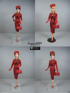 Tenue Outfit Accessoires Pour Fashion Royalty Barbie Silkstone Vintage 1405 | eBay