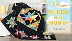 Course + Kit Craftsy Summer 2015 Block of the Month
