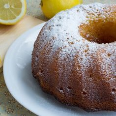 Limoncello Bundt Cake--I love all things lemon! Lemon Desserts, Lemon Recipes, Just Desserts, Cake Recipes, Dessert Recipes, Delicious Desserts, Yummy Food, Lemon Bundt Cake, Lemon Cake Mixes