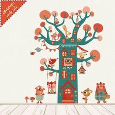 vinilos infantiles de tela removible arbol casita Easy Drawings, Digital Image, Advent Calendar, Classroom, Kids Rugs, Stickers, Holiday Decor, Party, Prints