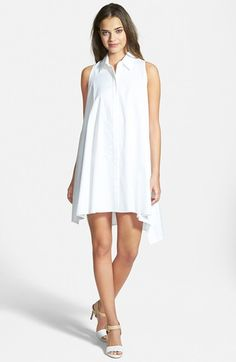 Rebecca Minkoff 'Miley' Sleeveless Shirtdress available at #Nordstrom