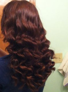 How to Get Perfect Curls With NO Heat (ADDED VIDEO) -love!!