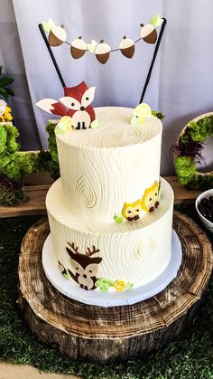 Woodland Animals, Wild One Birthday Party Ideas | Photo 6 of 12