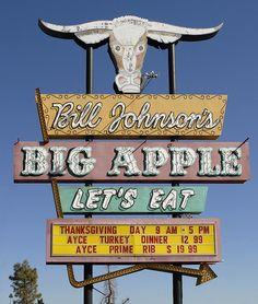 Bill Johnson's Big Apple • Mesa, Arizona. Always ate there when we were in Arizona..